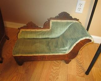 Antique Doll Fainting Couch