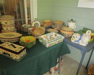 Temptation Serving Dishes