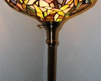 STAINED GLASS GLOOR LAMP