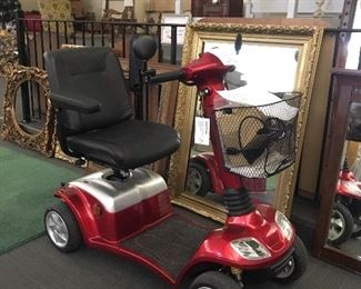 Brand new Kymco mobility scooter. Floor model, top of the line, road worthy.