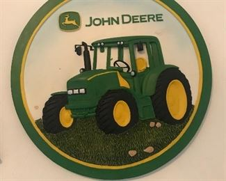 John Deere Wall plaque
