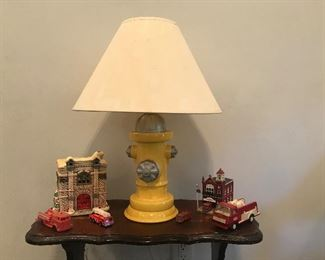 Fire Hydrant lamp, collectibles