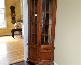 Beautiful All Wood Curio Cabinet Starting at $200.