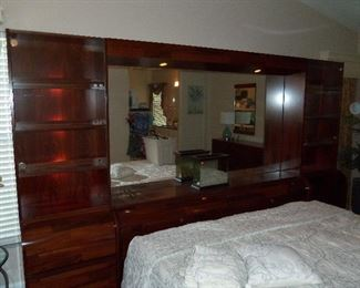 CABINETS ARE LIGHTED