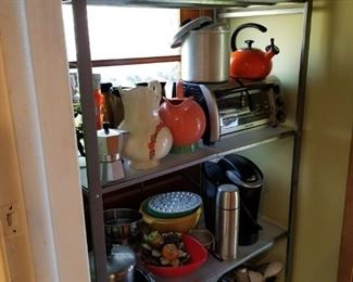 Loads of kitchen housewares new and vintage