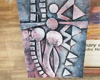 Sculpted artwork