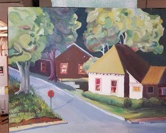 Ron Ferguson Painting