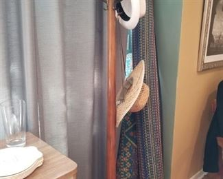 Antique coat hat rack