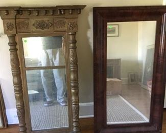 Two very old mirrors