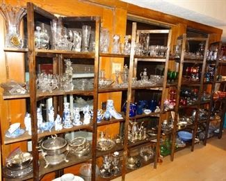 crystal, class, colored glass, decor items