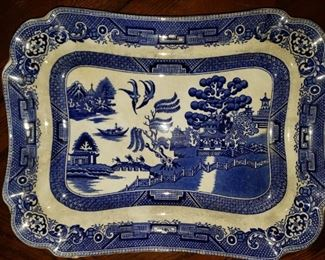 Blue Willow Tray (Ye Old Willow)