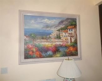 Large and Colorful painting
