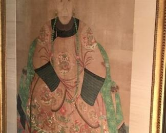 18th Century Chinese Ancestral Painting