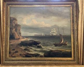 Thomas Burch Seascape