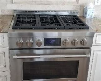 Jenn-Air 6-burner gas range