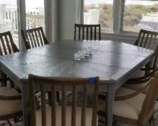 Gorgeous dining room table (sorry, owner is keeping chairs)