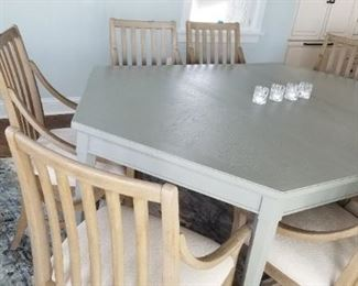 Dining room table is waiting to serve you