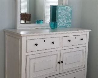 Dresser with mirror by Universal Furniture