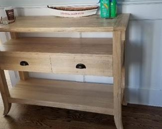 Foyer table with drawers