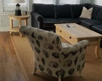 Sofa & loveseat manufactured in America by Braxton Culler