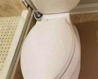 Multiple Kohler toilets available