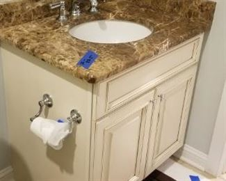 Multiple bath vanities available