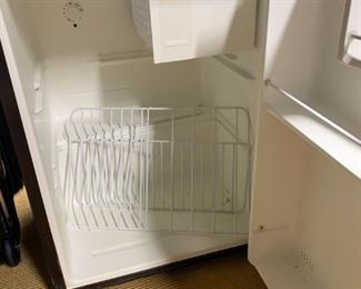 Dorm Refrigerator with Small Freezer