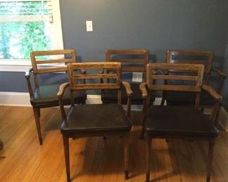 Mid-Centuy Modern Arm Chairs     https://ctbids.com/#!/description/share/259843