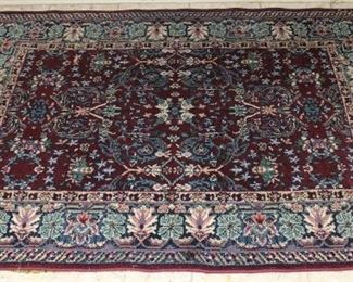 Cairo Mirage wine area rug 4' x 6'
