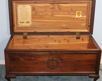 Open View: Lane Standard Mahogany Veneered Cedar Chest Altavista, VA.