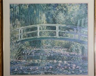 """Water Lilies"" by Claude Monet Framed Print 30"" x 30.5"""
