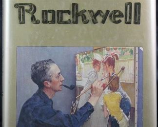 """The Best of Norman Rockwell""  1988 Coffee Table Book"