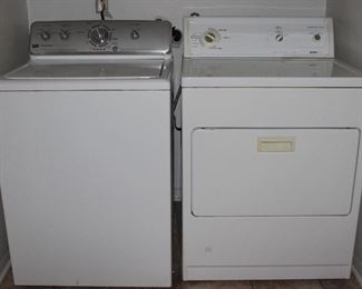 Maytag Centennial Commercial Technology washer and Kenmore 80 Series heavy duty super capacity plus electric dryer