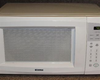 Kenmore White Micowave