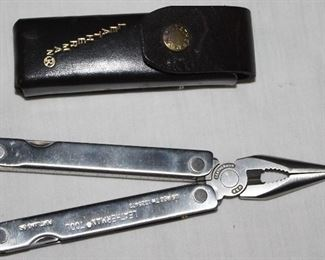 Leatherman with Leather Case