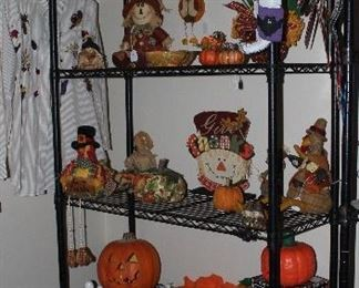 Thanksgiving and Halloween Decor