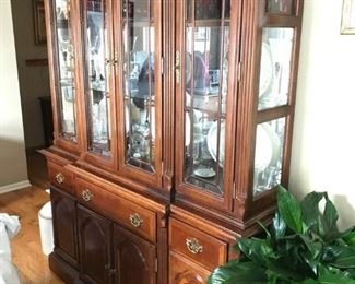 Pilgrim House, Mahogany dining Buffet & Hutch