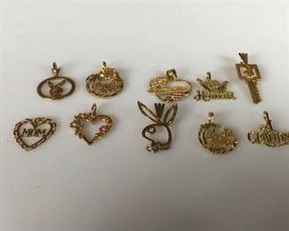 Gold 14k pendants