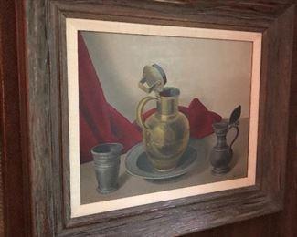 Joan Van Gent Oil on Canvas Still Life