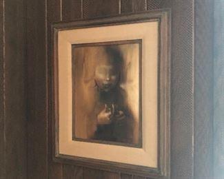 Zora Duvalll Oil on Canvas