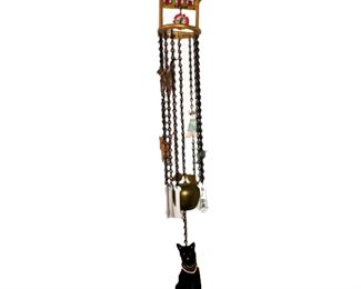 Lot 245 Drunk Pregnant Kittens Wind Chime!
