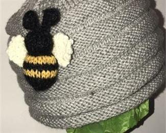 Lot 215 Bee Hat A Grey Wool
