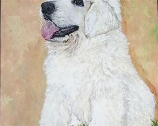 Lot 130 Artful Paintings-Painting of Your Dog