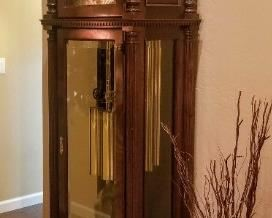 Vintage Charles R. Sligh Clocks – Grandfather Clock works Great!