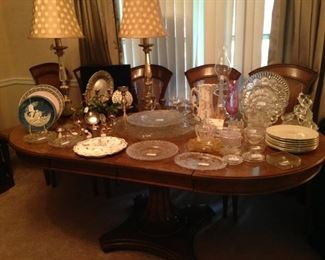 A second dining table filled with great selections