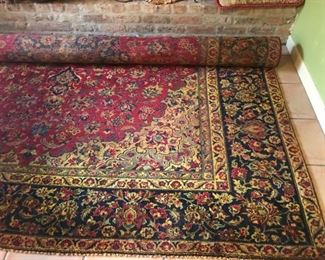 Huge hand-knotted rug