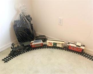 """Around the Tree"" Train w/Track"
