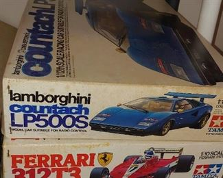 3 very hard to find RC model kits all unbuilt and NIB
