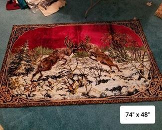 P & C Italian Tapestery