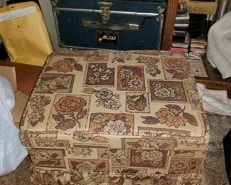 Sewing Ottoman Closed